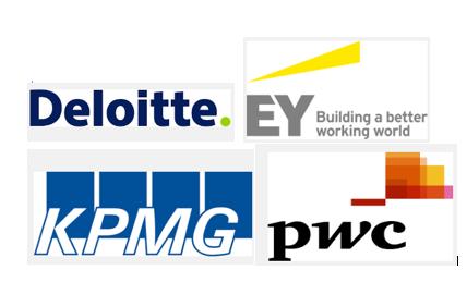 Resultado de imagen de EY, Deloitte, KPMG y PWC